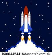 Cosmodrome Clip Art Vector Graphics. 100 cosmodrome EPS clipart.