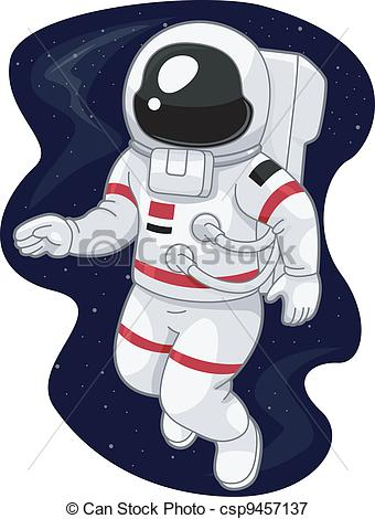 astronauts in space clipart - photo #4