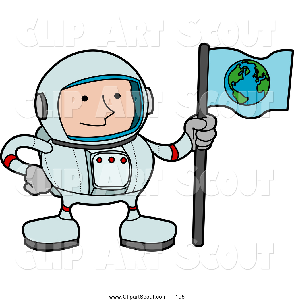 Adventure Clipart Cosmonaut Panda Free Images Of A Male Astronaut.
