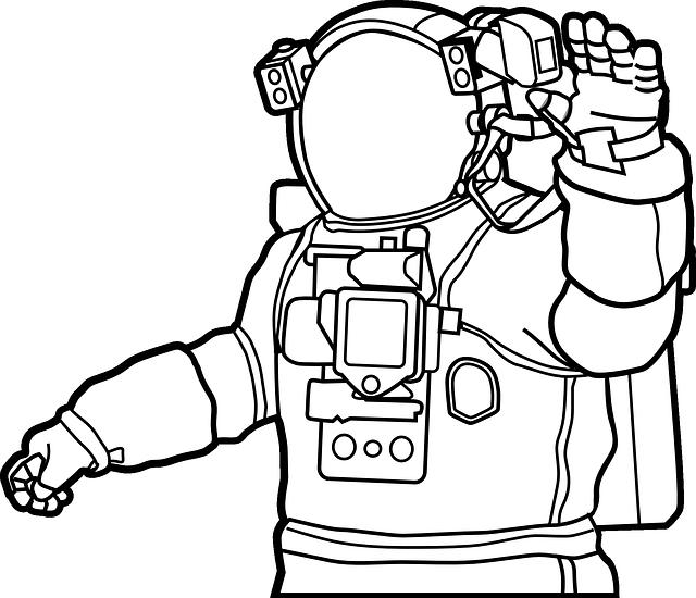 Free vector graphic: Space Suit, Astronaut, Helmet.