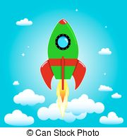 Day of cosmonautics Vector Clipart Royalty Free. 13 Day of.