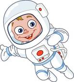 Cosmonaut Clip Art.