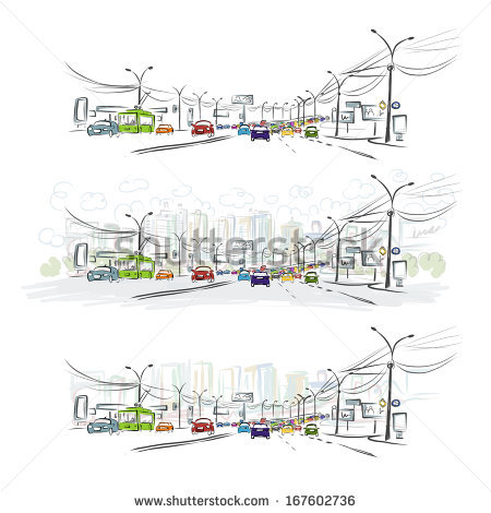 Cosmopolitan City Stock Vectors & Vector Clip Art.