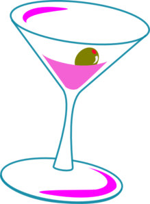 Cosmo Drink Clipart.