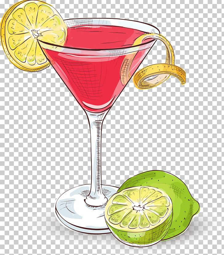 Cosmopolitan Cocktail Margarita Martini Vodka PNG, Clipart.