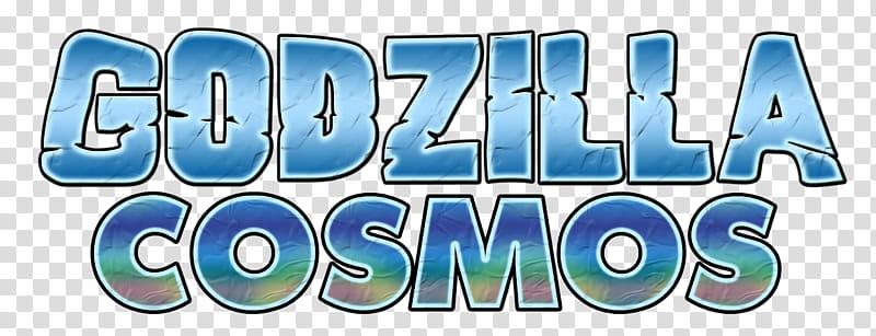 Godzilla Cosmos Logo transparent background PNG clipart.