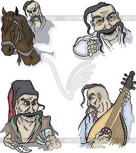 Ukrainian cossacks.