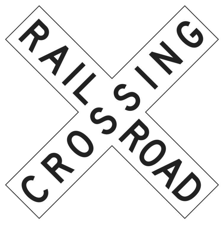 Railroad Crossing Clipart.