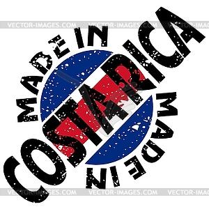 Made in Costa Rica.