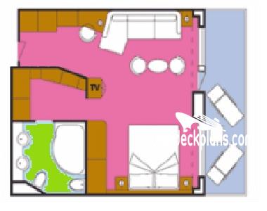 Costa Concordia Deck Plans.