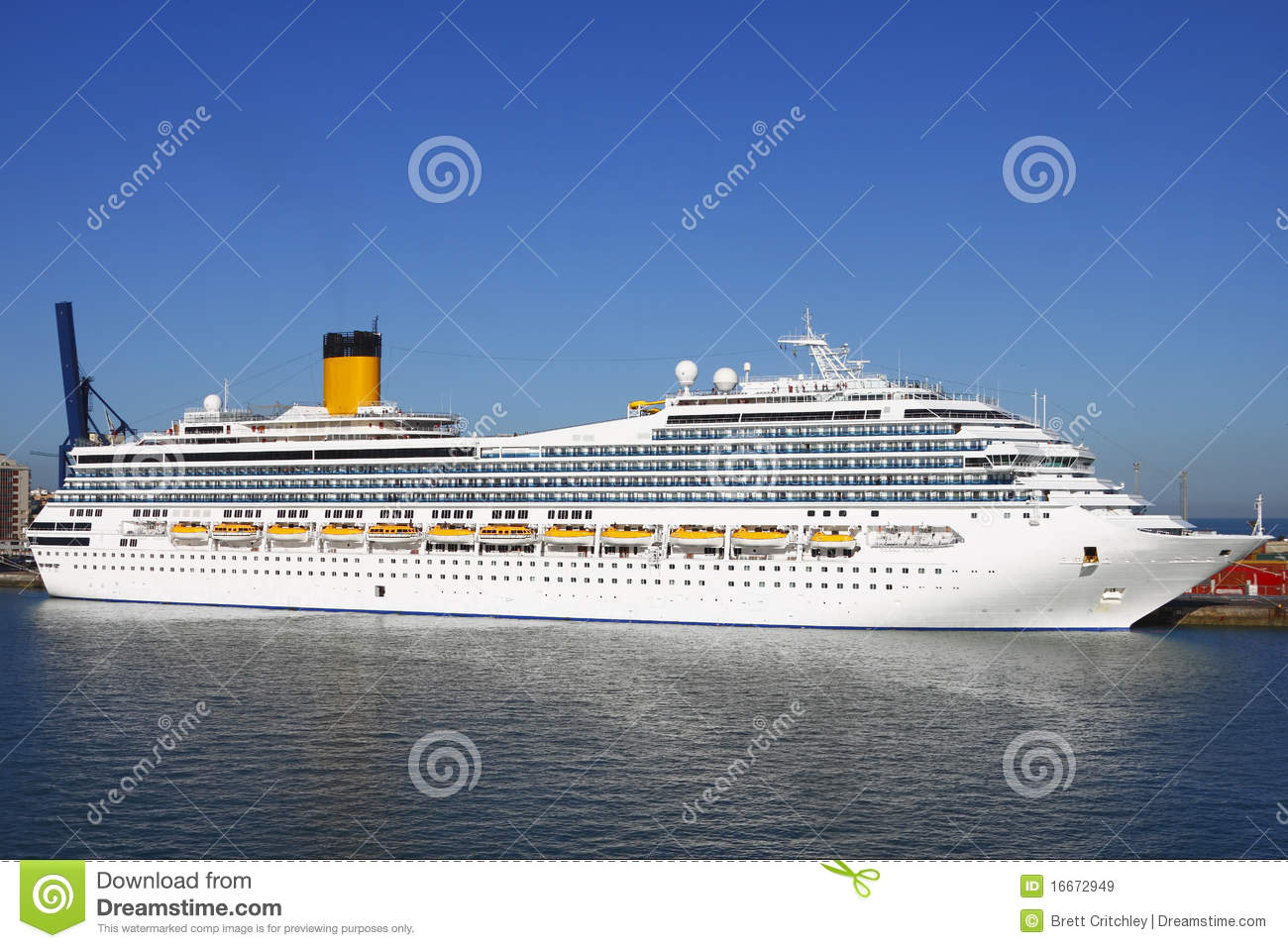 Costa Cruise Ship Royalty Free Stock Images.