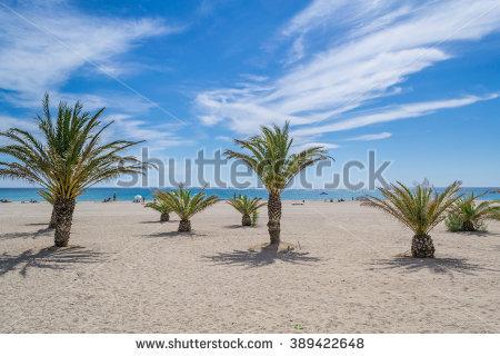 Costa Dorada Beach Stock Photos, Royalty.