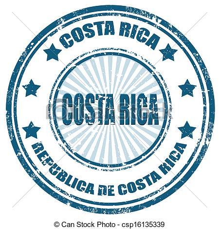 Costa rica stamp Vector Clip Art Illustrations. 156 Costa rica.