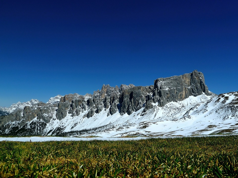 Free photo Italy Sun Dolomites Summer Mountain.