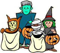 Halloween costume clip art.