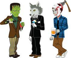 halloween costumes clip art.