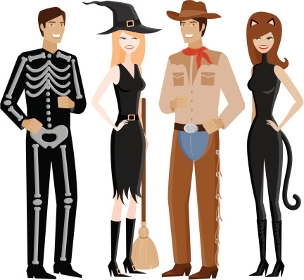 Costumes Clipart.