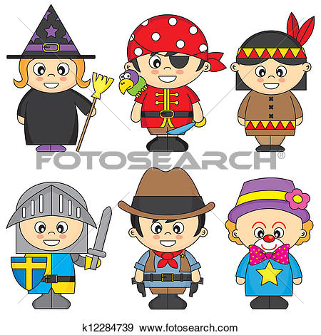 Stock Photo of African American child boy in costume pirate on.
