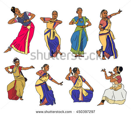 Indian Dance Stock Photos, Royalty.