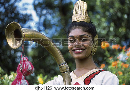 Stock Images of Kandy, Kandyan Dancer, Pooja Costume Dancer.