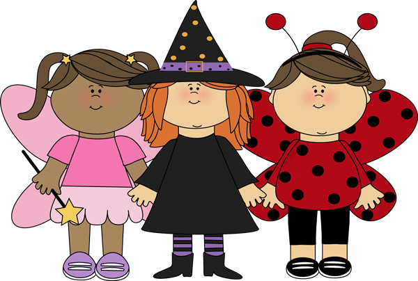 Cute Costume Clipart.