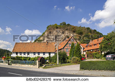 "Stock Images of ""Steffen Schabehorn winery, Bosel hill at back."
