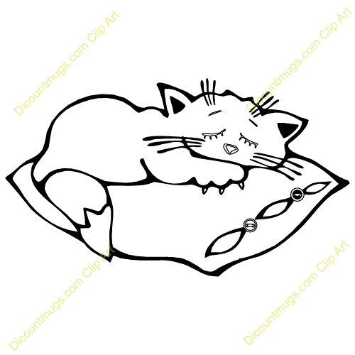 Gallery For > Sleeping Bag and Pillow Clipart.