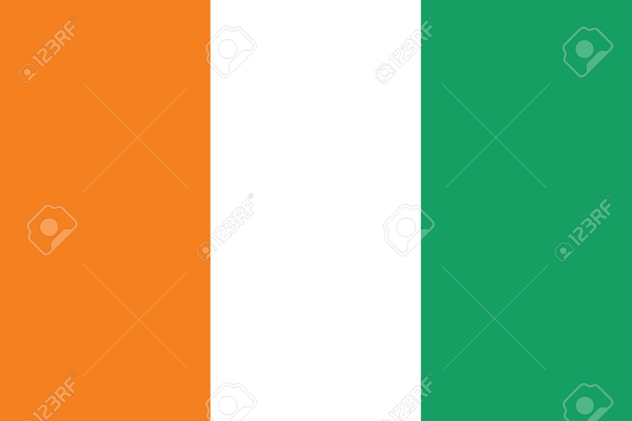 Flag Of Cote D Ivoire.
