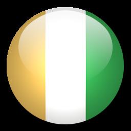 Button Flag Cote D Ivoire Icon, PNG ClipArt Image.