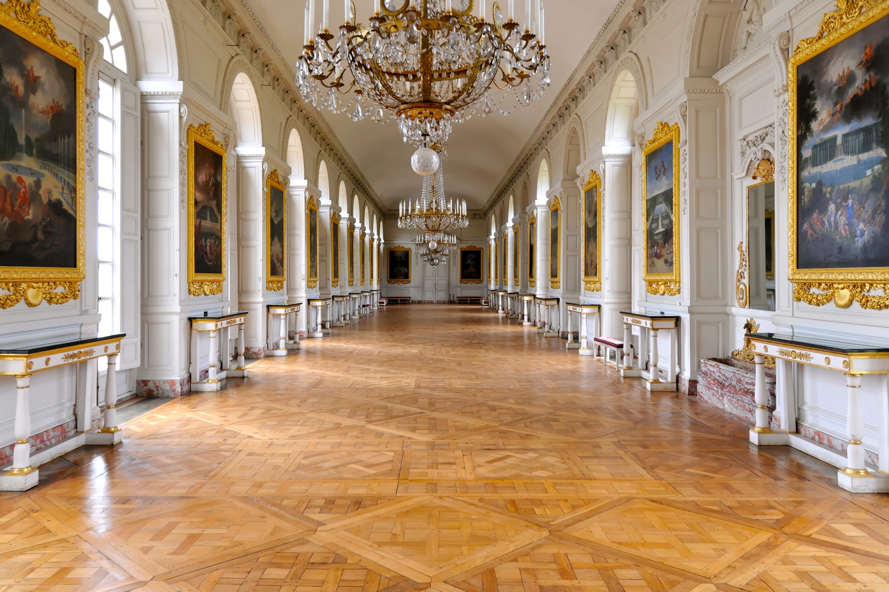 This is Versailles: The Cotelle Gallery.