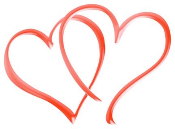 Red Double Heart Clip Art Clipartfest Sage Green. Ariki.co.