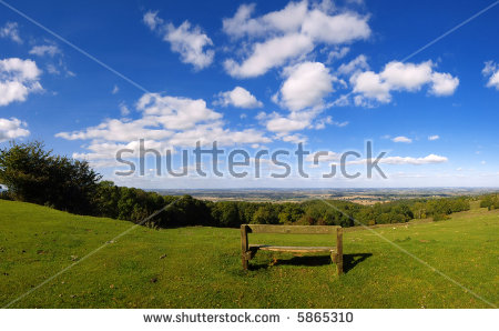Cotswold Way Stock Photos, Royalty.