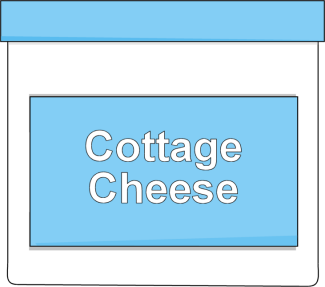Cottage Cheese Clip Art.