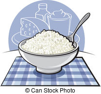 Cottage cheese Illustrations and Clipart. 424 Cottage cheese.