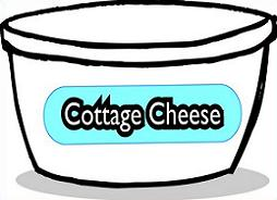 Free Cottage Cheese Clipart.