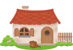 English cottage clipart.