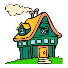 Cottage Clipart.