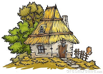English Cottage Clipart