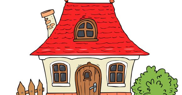 Cottage Images Clip Art
