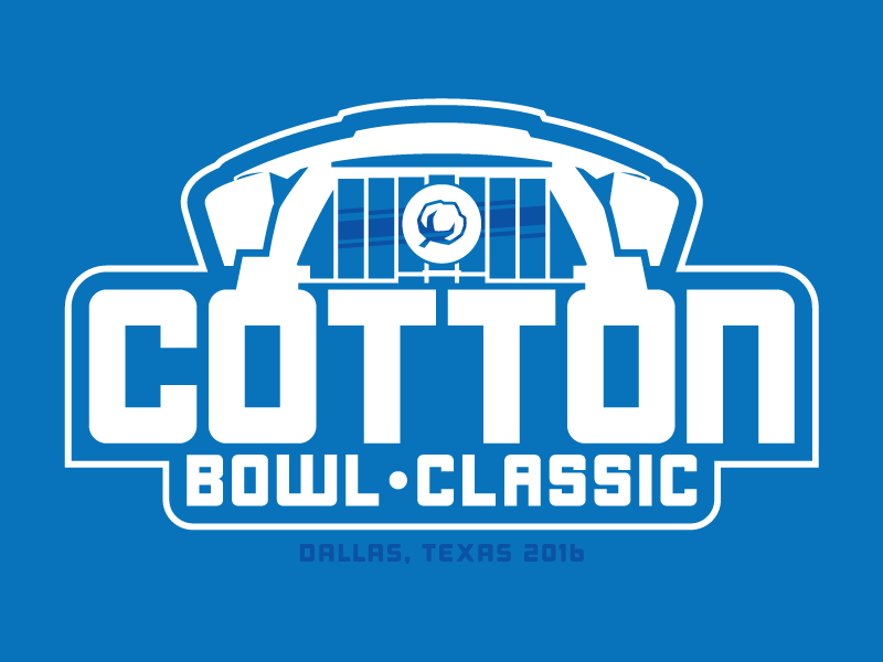 Cotton Bowl Logo Concept by Marco. on Dribbble.