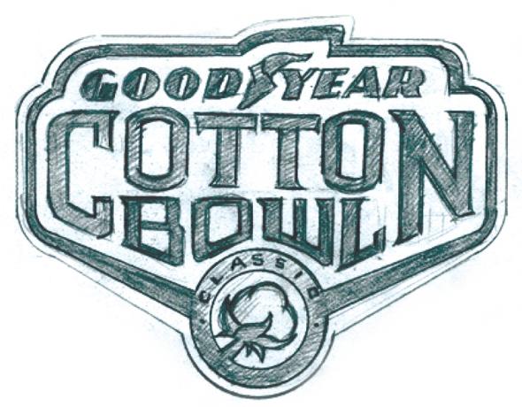 2015 Goodyear Cotton Bowl Logo Unveiled.