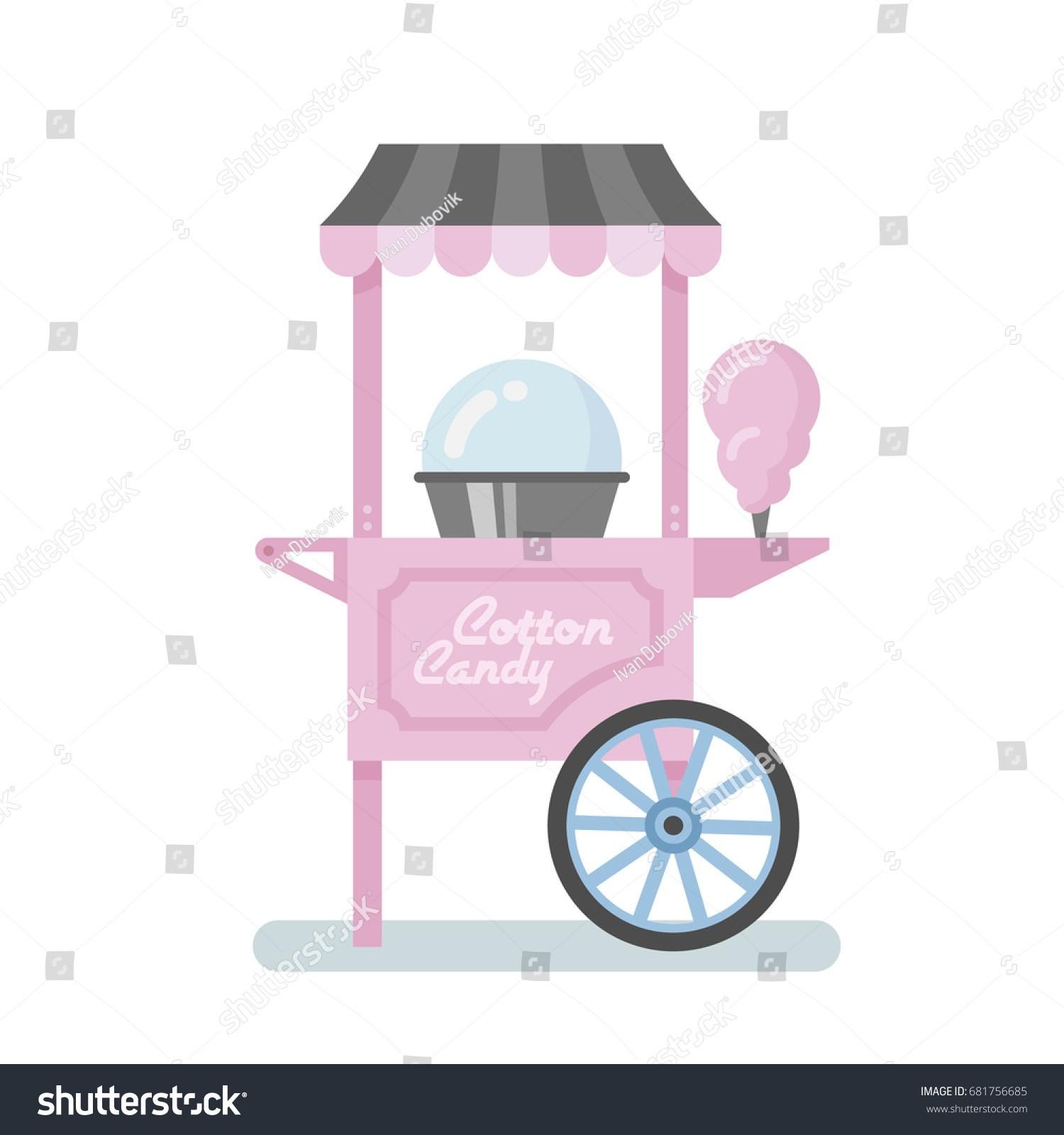 Cotton candy machine clipart 9 » Clipart Portal.