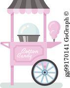 Cotton Candy Machine Clip Art.