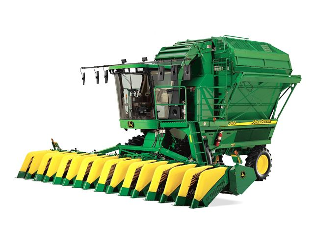 Cotton harvester clipart #10