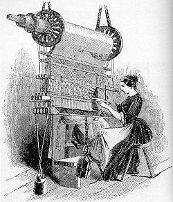 Textile Mill Clipart.