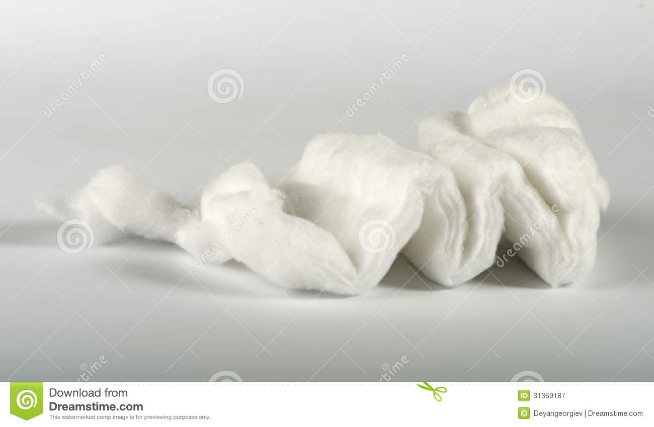 Cotton wool clip art.