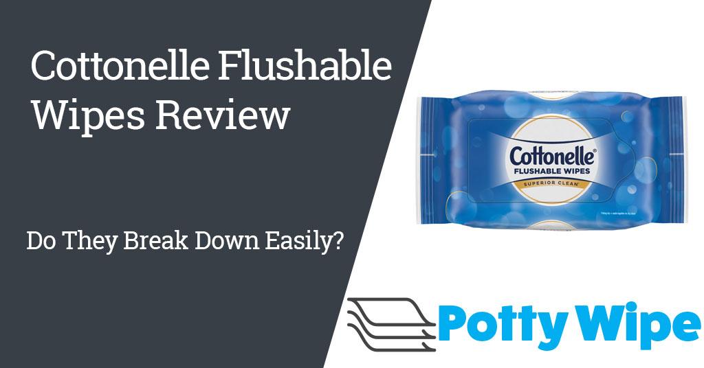 Cottonelle Flushable Wipes Review.