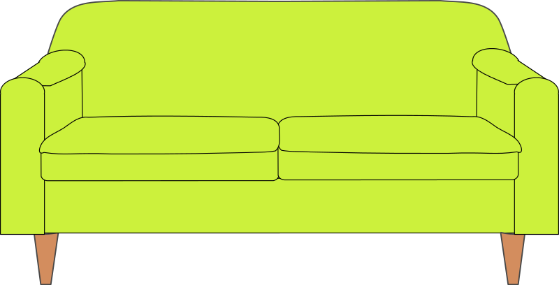 Couch Clip Art Free.