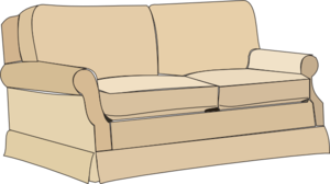 Clip art couch.