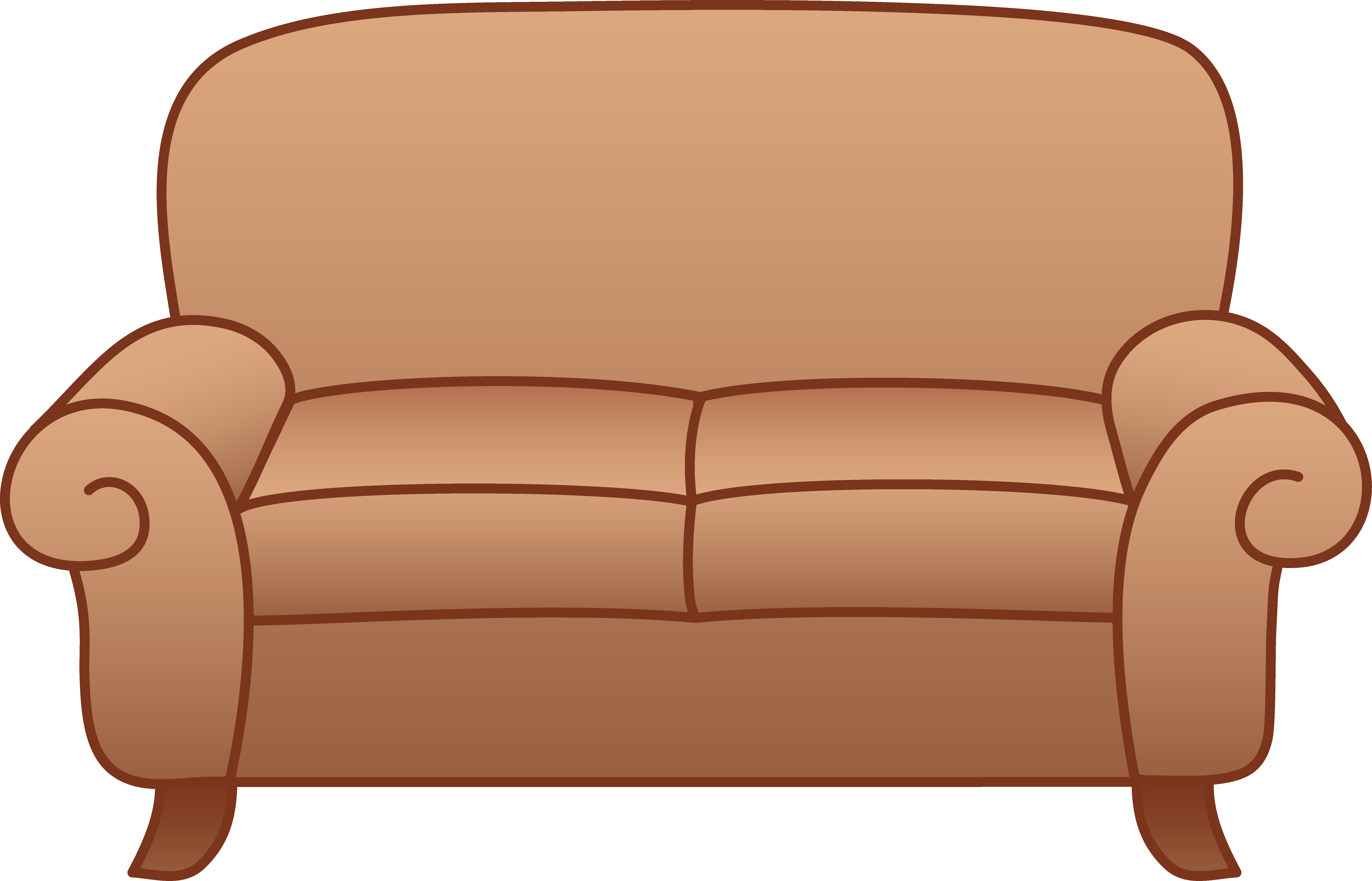 Clipart Vector of cartoon leather chair csp15569855 ... |Clipart Black Leather Chair